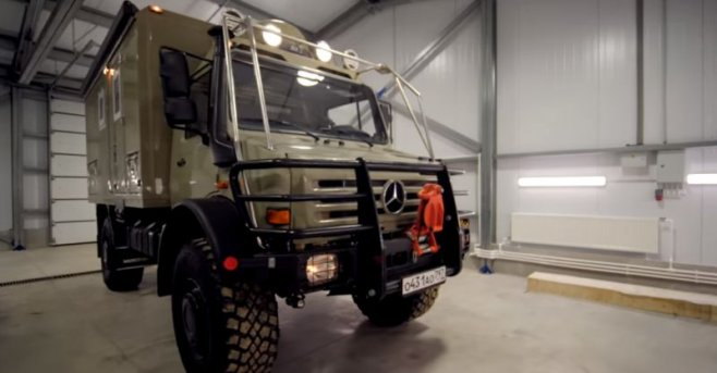 Мечта охотника и рыбака: дом на колесах Mercedes UNIMOG