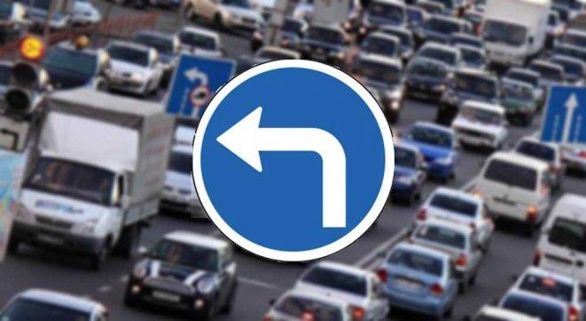 Типичная ошибка или чего категорически нельзя делать при повороте налево