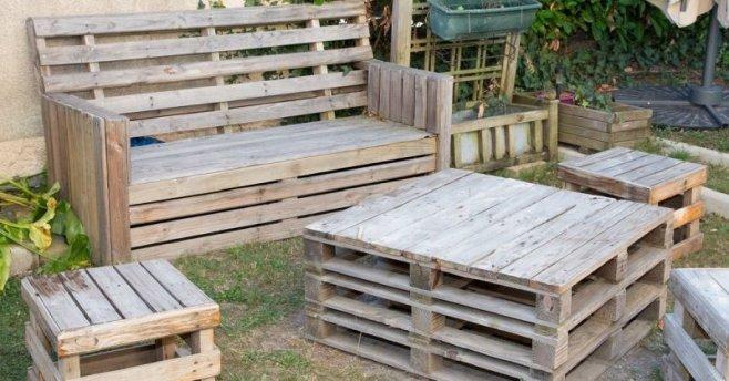 Креативные идеи: Что можно сделать из обычных деревянных поддонов