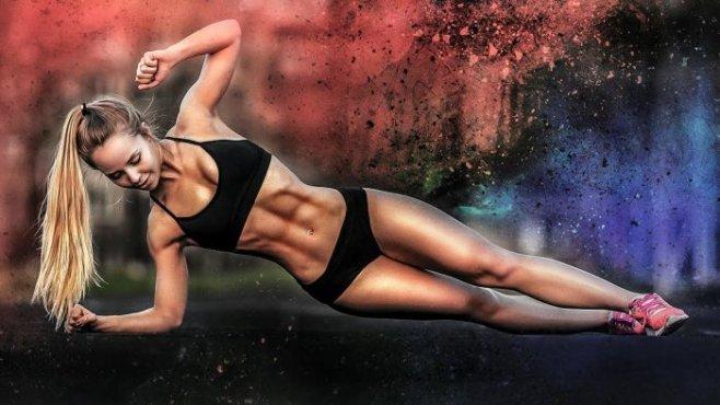 Крутые тренеровки невероятно красивой и спортивной девушки Gina Marie
