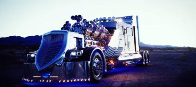 Thor24 самый мощный и самый дорогой тягач в мире