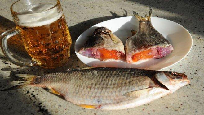 Как правильно засолить рыбу - тарань или леща