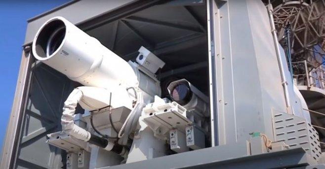 Боевые лазеры не фантастика - это уже реальность