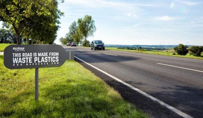 Дороги из пластика: экологично, надежно, экономично и просто