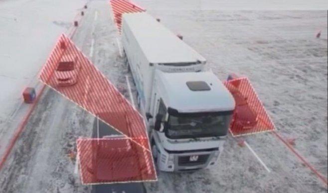 Что водителю и пешеходу нужно знать про ''слепые'' или ''мертвые'' зоны у фуры