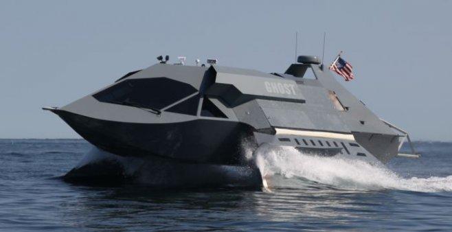 Беспилотный роботизированный корабль-дрон ВМС США успешно прошел испытание