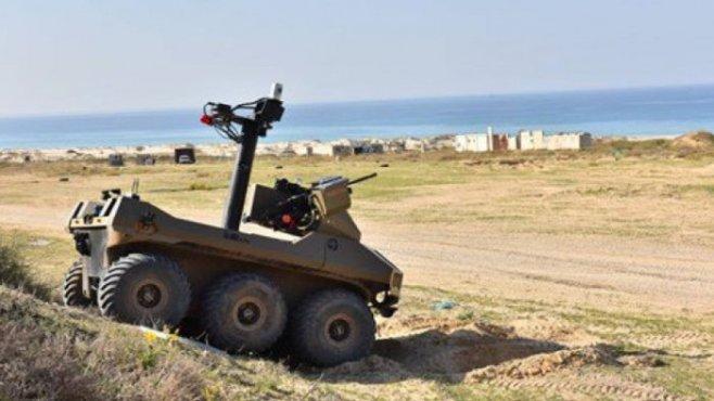 В Израиле полуавтоматические роботы с пулеметами заменят солдат людей на границе