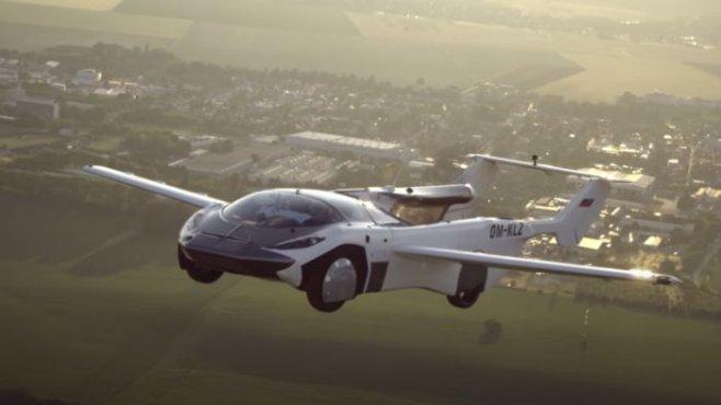 Летающий автомобиль AirCar больше не фантастика, он успешно совершил перелет между городами