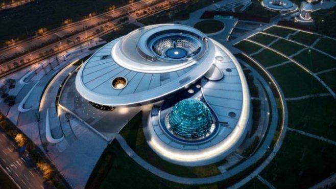 Музей астрономии, который имитирует движение Вселенной