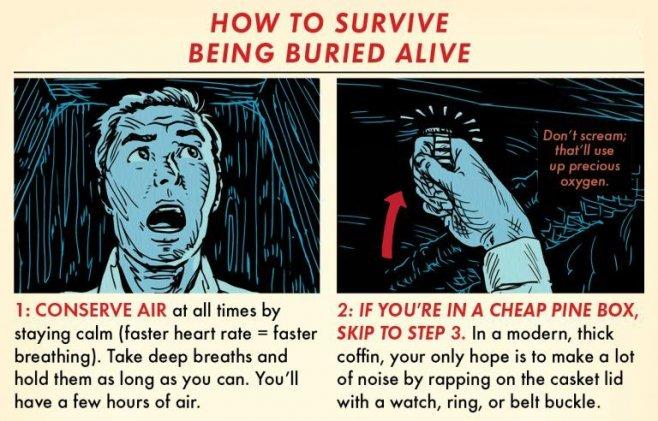 Как выжить после похорон заживо