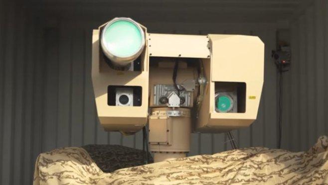 Французские лазеры для ВМФ против дронов