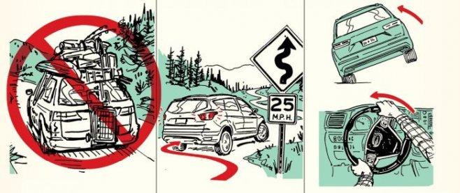 Руководство: Как выжить при ДТП с переворотом автомобиля на крышу