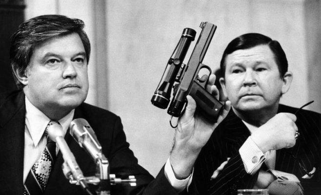 Секретный пистолет ЦРУ устранявший цели без доказательств