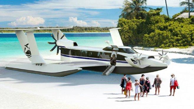 Этот корабль может летать со скоростью 200 километров в час