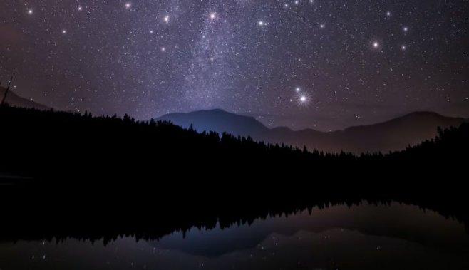 Как найти юг и север по звездам в ночном небе