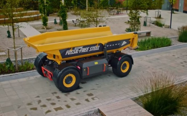 Новый уникальный грузовик от Volvo